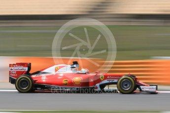 World © Octane Photographic Ltd. Scuderia Ferrari SF16-H – Antonio Fuoco. Wednesday 18th May 2016, F1 Spanish GP In-season testing, Circuit de Barcelona Catalunya, Spain. Digital Ref : 1556CB7D9422