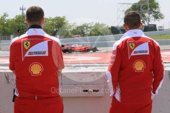 World © Octane Photographic Ltd. Scuderia Ferrari SF16-H – Antonio Fuoco. Wednesday 18th May 2016, F1 Spanish GP In-season testing, Circuit de Barcelona Catalunya, Spain. Digital Ref : 1556CB7D9472