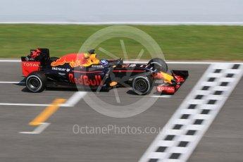 World © Octane Photographic Ltd. Red Bull Racing RB12 – Max Verstappen. Wednesday 18th May 2016, F1 Spanish GP In-season testing, Circuit de Barcelona Catalunya, Spain. Digital Ref : 1556CB7D9500