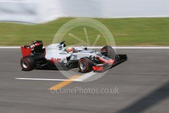 World © Octane Photographic Ltd. Haas F1 Team VF-16 - Esteban Gutierrez. Wednesday 18th May 2016, F1 Spanish GP In-season testing, Circuit de Barcelona Catalunya, Spain. Digital Ref : 1556CB7D9643