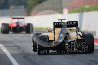 World © Octane Photographic Ltd. Renault Sport F1 Team RS16 – Kevin Magnussen. Wednesday 18th May 2016, F1 Spanish GP In-season testing, Circuit de Barcelona Catalunya, Spain. Digital Ref : 1556LB1D0115