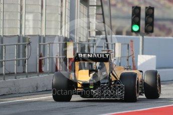 World © Octane Photographic Ltd. Renault Sport F1 Team RS16 – Kevin Magnussen. Wednesday 18th May 2016, F1 Spanish GP In-season testing, Circuit de Barcelona Catalunya, Spain. Digital Ref : 1556LB1D0406