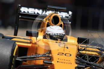 World © Octane Photographic Ltd. Renault Sport F1 Team RS16 – Kevin Magnussen. Wednesday 18th May 2016, F1 Spanish GP In-season testing, Circuit de Barcelona Catalunya, Spain. Digital Ref : 1556LB1D0708