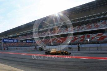 World © Octane Photographic Ltd. Renault Sport F1 Team RS16 – Kevin Magnussen. Wednesday 18th May 2016, F1 Spanish GP In-season testing, Circuit de Barcelona Catalunya, Spain. Digital Ref : 1556LB5D4903
