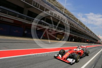 World © Octane Photographic Ltd. Scuderia Ferrari SF16-H – Antonio Fuoco. Wednesday 18th May 2016, F1 Spanish GP In-season testing, Circuit de Barcelona Catalunya, Spain. Digital Ref : 1556LB5D4967