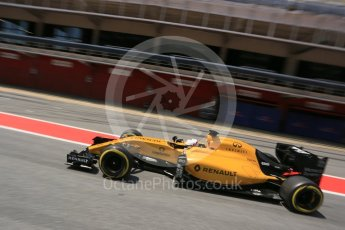 World © Octane Photographic Ltd. Renault Sport F1 Team RS16 – Kevin Magnussen. Wednesday 18th May 2016, F1 Spanish GP In-season testing, Circuit de Barcelona Catalunya, Spain. Digital Ref : 1556LB5D4991