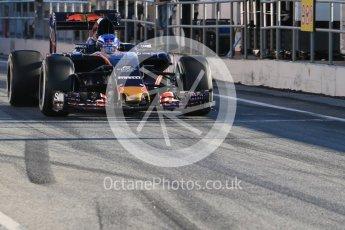 World © Octane Photographic Ltd. Red Bull Racing-TAG Heuer RB12 – Daniil Kvyat. Tuesday 1st March 2016, F1 Winter testing, Circuit de Barcelona Catalunya, Spain, Day 5. Digital Ref : 1508LB1D4109