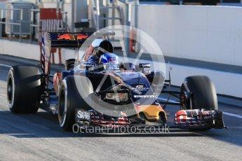 World © Octane Photographic Ltd. Red Bull Racing-TAG Heuer RB12 – Daniil Kvyat. Tuesday 1st March 2016, F1 Winter testing, Circuit de Barcelona Catalunya, Spain, Day 5. Digital Ref : 1508LB1D4118