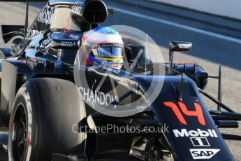 World © Octane Photographic Ltd. McLaren Honda MP4-31 – Fernando Alonso. Tuesday 1st March 2016, F1 Winter testing, Circuit de Barcelona Catalunya, Spain, Day 5. Digital Ref : 1508LB1D4170