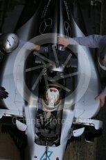 World © Octane Photographic Ltd. Mercedes AMG Petronas W07 Hybrid – Lewis Hamilton. Tuesday 1st March 2016, F1 Winter testing, Circuit de Barcelona Catalunya, Spain, Day 5. Digital Ref : 1508LB1D5039