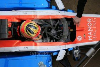 World © Octane Photographic Ltd. Manor Racing MRT05 – Rio Haryanto. Tuesday 1st March 2016, F1 Winter testing, Circuit de Barcelona Catalunya, Spain, Day 5. Digital Ref : 1508LB1D5168