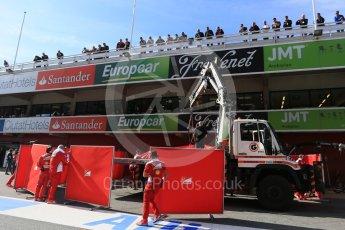 World © Octane Photographic Ltd. Scuderia Ferrari SF16-H – Kimi Raikkonen. Tuesday 1st March 2016, F1 Winter testing, Circuit de Barcelona Catalunya, Spain, Day 5. Digital Ref : 1508LB5D9155