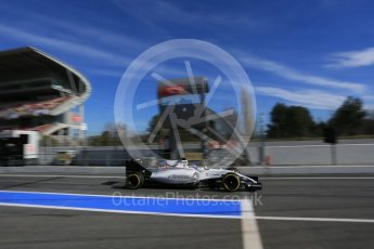World © Octane Photographic Ltd. Williams Martini Racing, Williams Mercedes FW38 – Valtteri Bottas. Tuesday 1st March 2016, F1 Winter testing, Circuit de Barcelona Catalunya, Spain, Day 5. Digital Ref : 1508LB5D9207