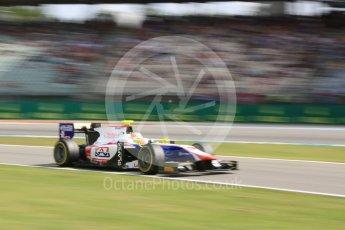 World © Octane Photographic Ltd. Trident - GP2/11 – Luca Ghiotto. Friday 29th July 2016, GP2 Qualifying, Hockenheim, Germany. Digital Ref :1662CB5D9907
