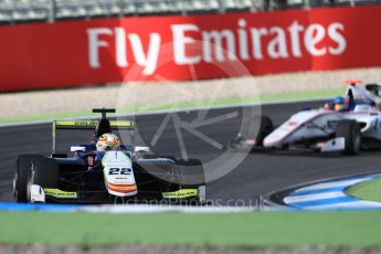 World © Octane Photographic Ltd. Campos Racing - GP3/16 – Alex Palou and Koiranen GP – Matevos Isaakyan. Friday 29th July 2016, GP3 Practice, Hockenheim, Germany. Digital Ref :1664CB1D0128