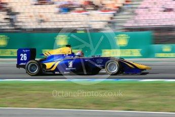 World © Octane Photographic Ltd. DAMS - GP3/16 – Santino Ferrucci. Saturday 30th July 2016, GP3 Qualifying, Hockenheim, Germany. Digital Ref :1666CB5D0036