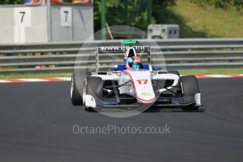 World © Octane Photographic Ltd. Koiranen GP - GP3/16 – Ralph Boschung. Saturday 23rd July 2016, GP3 Qualifying, Hungaroring, Hungary. Digital Ref :1646CB1D7454