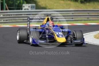 World © Octane Photographic Ltd. DAMS - GP3/16 – Santino Ferrucci. Saturday 23rd July 2016, GP3 Qualifying, Hungaroring, Hungary. Digital Ref :1646CB1D7472