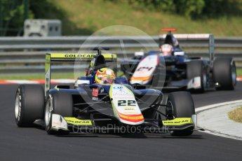 World © Octane Photographic Ltd. Campos Racing - GP3/16 – Alex Palou and Konstantin Tereschenko. Saturday 23rd July 2016, GP3 Qualifying, Hungaroring, Hungary. Digital Ref :1646CB1D7507