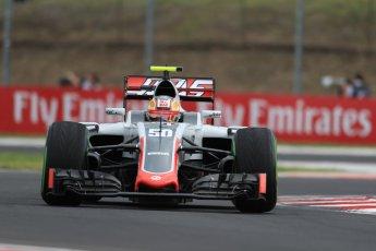 World © Octane Photographic Ltd. Haas F1 Team VF-16– Charles Leclerc. Friday 22nd July 2016, F1 Hungarian GP Practice 1, Hungaroring, Hungary. Digital Ref :