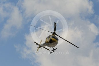 World © Octane Photographic Ltd. Helicopter. Friday 22nd July 2016, F1 Hungarian GP Practice 2, Hungaroring, Hungary. Digital Ref : 1641CB1D6596