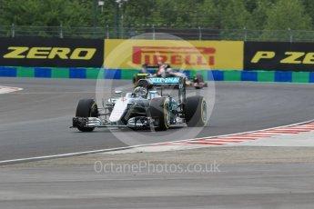 World © Octane Photographic Ltd. Mercedes AMG Petronas W07 Hybrid – Nico Rosberg. Friday 22nd July 2016, F1 Hungarian GP Practice 2, Hungaroring, Hungary. Digital Ref : 1641CB1D6627