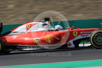 World © Octane Photographic Ltd. Scuderia Ferrari SF16-H – Sebastian Vettel. Friday 22nd July 2016, F1 Hungarian GP Practice 2, Hungaroring, Hungary. Digital Ref : 1641CB1D6869