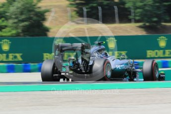World © Octane Photographic Ltd. Mercedes AMG Petronas W07 Hybrid – Nico Rosberg. Friday 22nd July 2016, F1 Hungarian GP Practice 2, Hungaroring, Hungary. Digital Ref : 1641CB1D6949