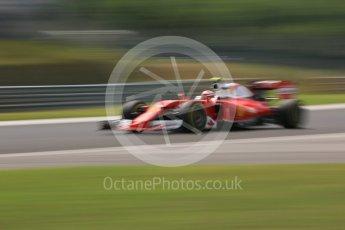 World © Octane Photographic Ltd. Scuderia Ferrari SF16-H – Kimi Raikkonen. Friday 22nd July 2016, F1 Hungarian GP Practice 2, Hungaroring, Hungary. Digital Ref : 1641CB5D6904