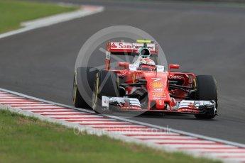 World © Octane Photographic Ltd. Scuderia Ferrari SF16-H – Kimi Raikkonen. Friday 22nd July 2016, F1 Hungarian GP Practice 2, Hungaroring, Hungary. Digital Ref : 1641LB1D1585