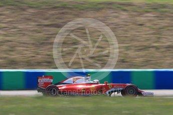 World © Octane Photographic Ltd. Scuderia Ferrari SF16-H – Kimi Raikkonen. Friday 22nd July 2016, F1 Hungarian GP Practice 2, Hungaroring, Hungary. Digital Ref : 1641LB1D2078
