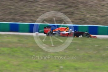 World © Octane Photographic Ltd. Red Bull Racing RB12 – Max Verstappen. Friday 22nd July 2016, F1 Hungarian GP Practice 2, Hungaroring, Hungary. Digital Ref :