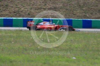 World © Octane Photographic Ltd. Scuderia Ferrari SF16-H – Kimi Raikkonen. Friday 22nd July 2016, F1 Hungarian GP Practice 2, Hungaroring, Hungary. Digital Ref : 1641LB1D2172