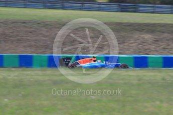 World © Octane Photographic Ltd. Manor Racing MRT05 – Rio Haryanto. Friday 22nd July 2016, F1 Hungarian GP Practice 2, Hungaroring, Hungary. Digital Ref : 1641LB1D2187