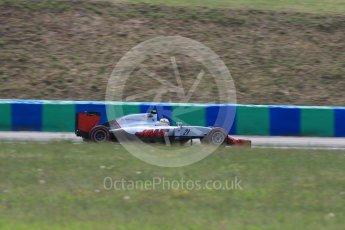 World © Octane Photographic Ltd. Haas F1 Team VF-16 - Esteban Gutierrez. Friday 22nd July 2016, F1 Hungarian GP Practice 2, Hungaroring, Hungary. Digital Ref : 1641LB1D2288