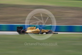 World © Octane Photographic Ltd. Renault Sport F1 Team RS16 - Kevin Magnussen. Friday 22nd July 2016, F1 Hungarian GP Practice 2, Hungaroring, Hungary. Digital Ref : 1641LB1D2408