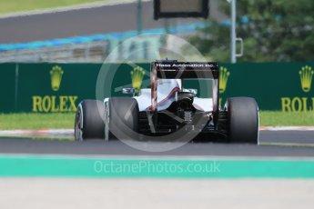 World © Octane Photographic Ltd. Haas F1 Team VF-16 – Romain Grosjean. Saturday 23rd July 2016, F1 Hungarian GP Practice 3, Hungaroring, Hungary. Digital Ref :1647CB1D7618