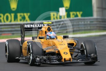 World © Octane Photographic Ltd. Renault Sport F1 Team RS16 – Jolyon Palmer. Saturday 23rd July 2016, F1 Hungarian GP Practice 3, Hungaroring, Hungary. Digital Ref :1647CB1D7636