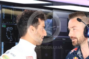 World © Octane Photographic Ltd. Red Bull Racing RB12 – Daniel Ricciardo. Saturday 23rd July 2016, F1 Hungarian GP Practice 3, Hungaroring, Hungary. Digital Ref : 1647LB1D3008