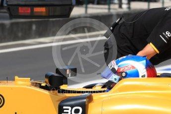 World © Octane Photographic Ltd. Renault Sport F1 Team RS16 – Jolyon Palmer. Saturday 23rd July 2016, F1 Hungarian GP Practice 3, Hungaroring, Hungary. Digital Ref : 1647LB1D3126