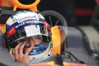 World © Octane Photographic Ltd. Red Bull Racing RB12 – Daniel Ricciardo. Saturday 23rd July 2016, F1 Hungarian GP Practice 3, Hungaroring, Hungary. Digital Ref : 1647LB1D3440