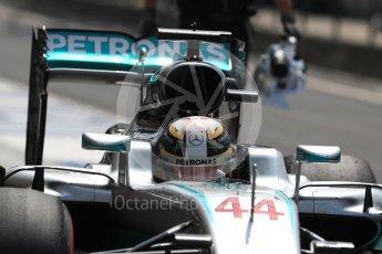 World © Octane Photographic Ltd. Mercedes AMG Petronas W07 Hybrid – Lewis Hamilton. Saturday 23rd July 2016, F1 Hungarian GP Practice 3, Hungaroring, Hungary. Digital Ref : 1647LB1D3465