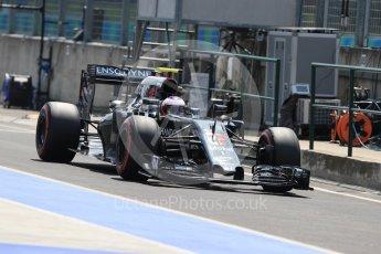 World © Octane Photographic Ltd. McLaren Honda MP4-31 – Jenson Button. Saturday 23rd July 2016, F1 Hungarian GP Practice 3, Hungaroring, Hungary. Digital Ref : 1647LB1D3624