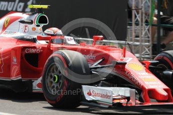 World © Octane Photographic Ltd. Scuderia Ferrari SF16-H – Kimi Raikkonen. Saturday 23rd July 2016, F1 Hungarian GP Practice 3, Hungaroring, Hungary. Digital Ref : 1647LB1D3758