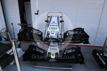 World © Octane Photographic Ltd. Williams Martini Racing, Williams Mercedes FW38. Saturday 23rd July 2016, F1 Hungarian GP Practice 3, Hungaroring, Hungary. Digital Ref : 1647LB2D9975