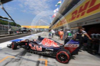 World © Octane Photographic Ltd. Scuderia Toro Rosso STR11 – Daniil Kvyat. Saturday 23rd July 2016, F1 Hungarian GP Practice 3, Hungaroring, Hungary. Digital Ref : 1647LB2D9998