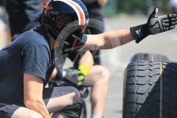 World © Octane Photographic Ltd. Prema Racing – Pierre Gasly and Racing Engineering – Jordan KingS. aturday 21st July 2016, GP2 Paddock, Hungaroring, Hungary. Digital Ref :1637CB1D5531