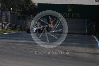 World © Octane Photographic Ltd. Sahara Force India VJM09 Development Driver – Alfonso Celis. Friday 2nd September 2016, F1 Italian GP Practice 1, Monza, Italy. Digital Ref :1697LB1D5402