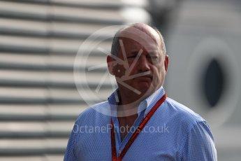 World © Octane Photographic Ltd. McLaren Honda - Ron Dennis. Saturday 3rd September 2016, F1 Italian GP Paddock, Monza, Italy. Digital Ref :1696LB1D7451