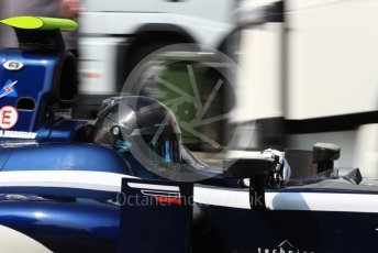World © Octane Photographic Ltd. Russian Time - GP2/11 – Artem Markelov. Friday 2nd September 2016, GP2 Practice, Monza, Italy. Digital Ref : 1698LB1D5954